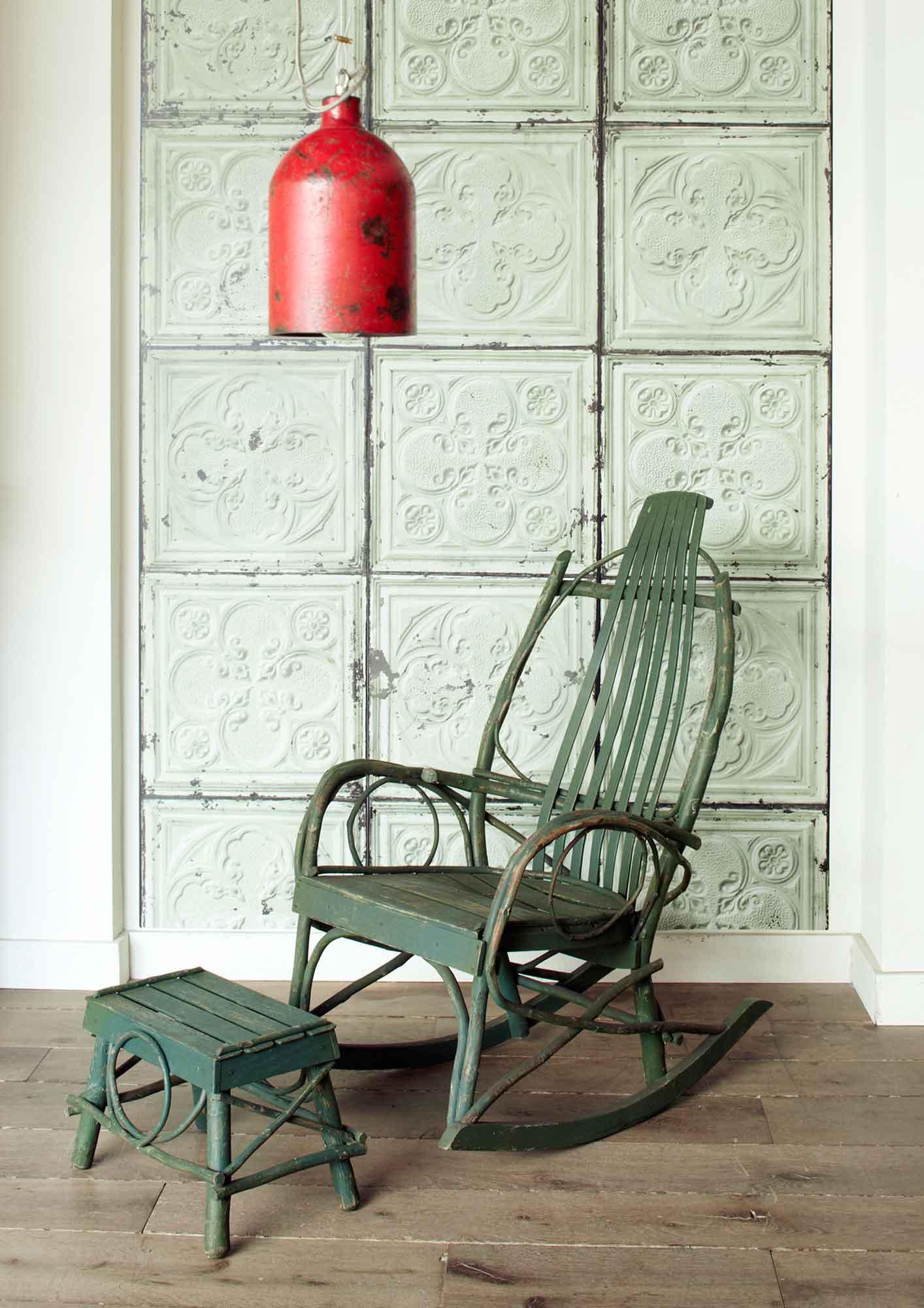 design tapeten arte vintage stuck optik brooklyn tins merci online kaufen. Black Bedroom Furniture Sets. Home Design Ideas