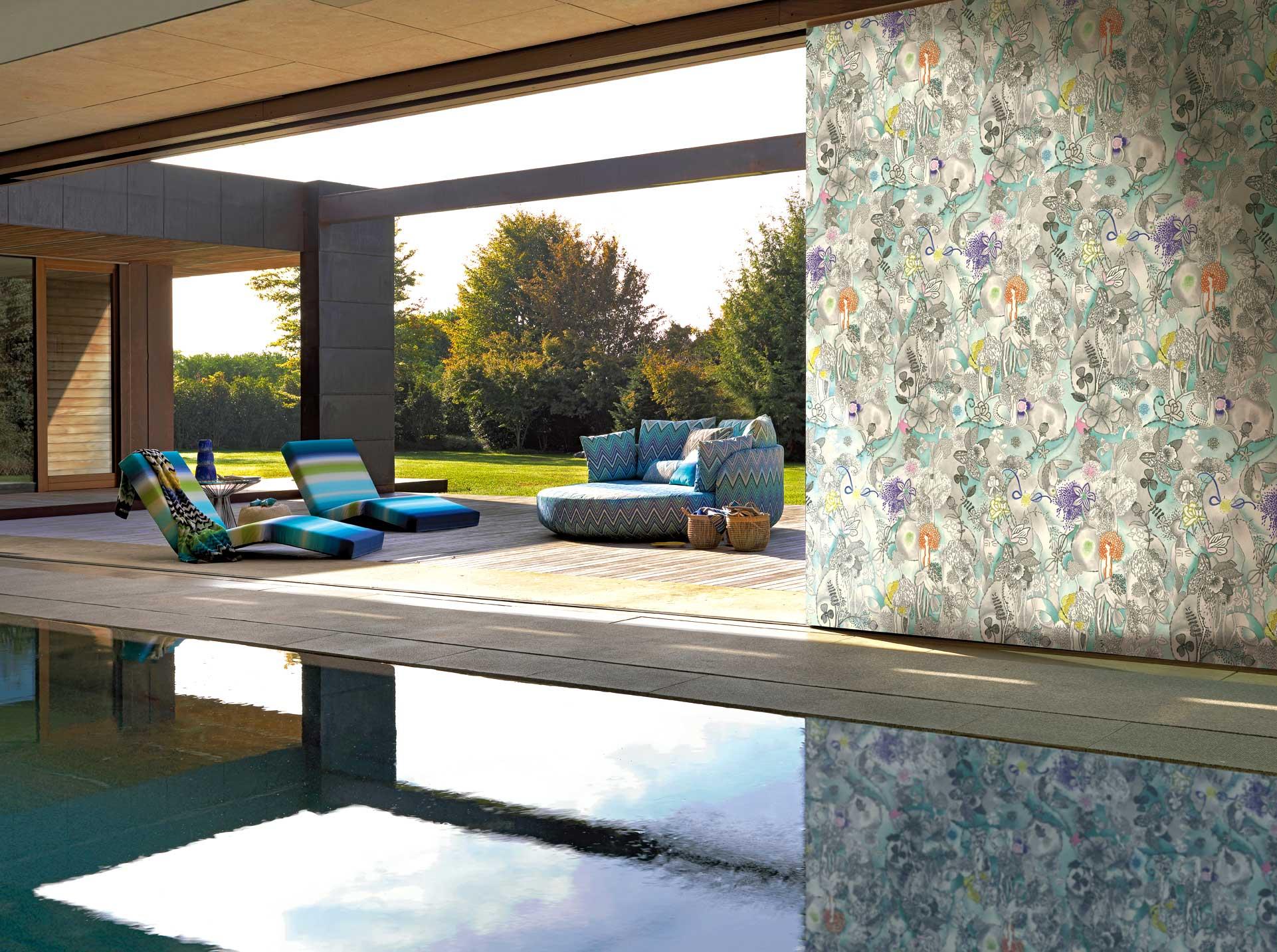 italienische design tapeten online kaufen. Black Bedroom Furniture Sets. Home Design Ideas
